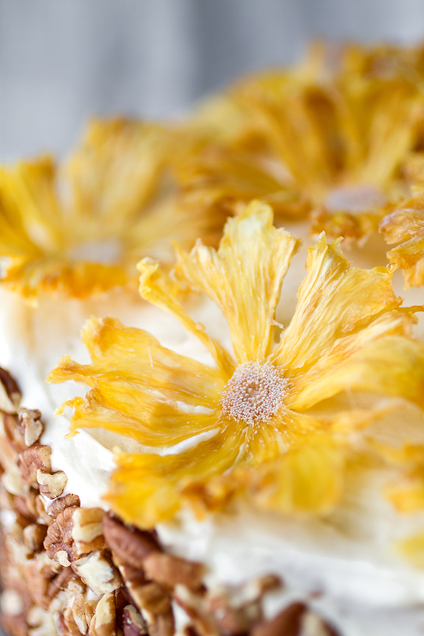 dried pineapple flowers if desired serve immediately or keep ...