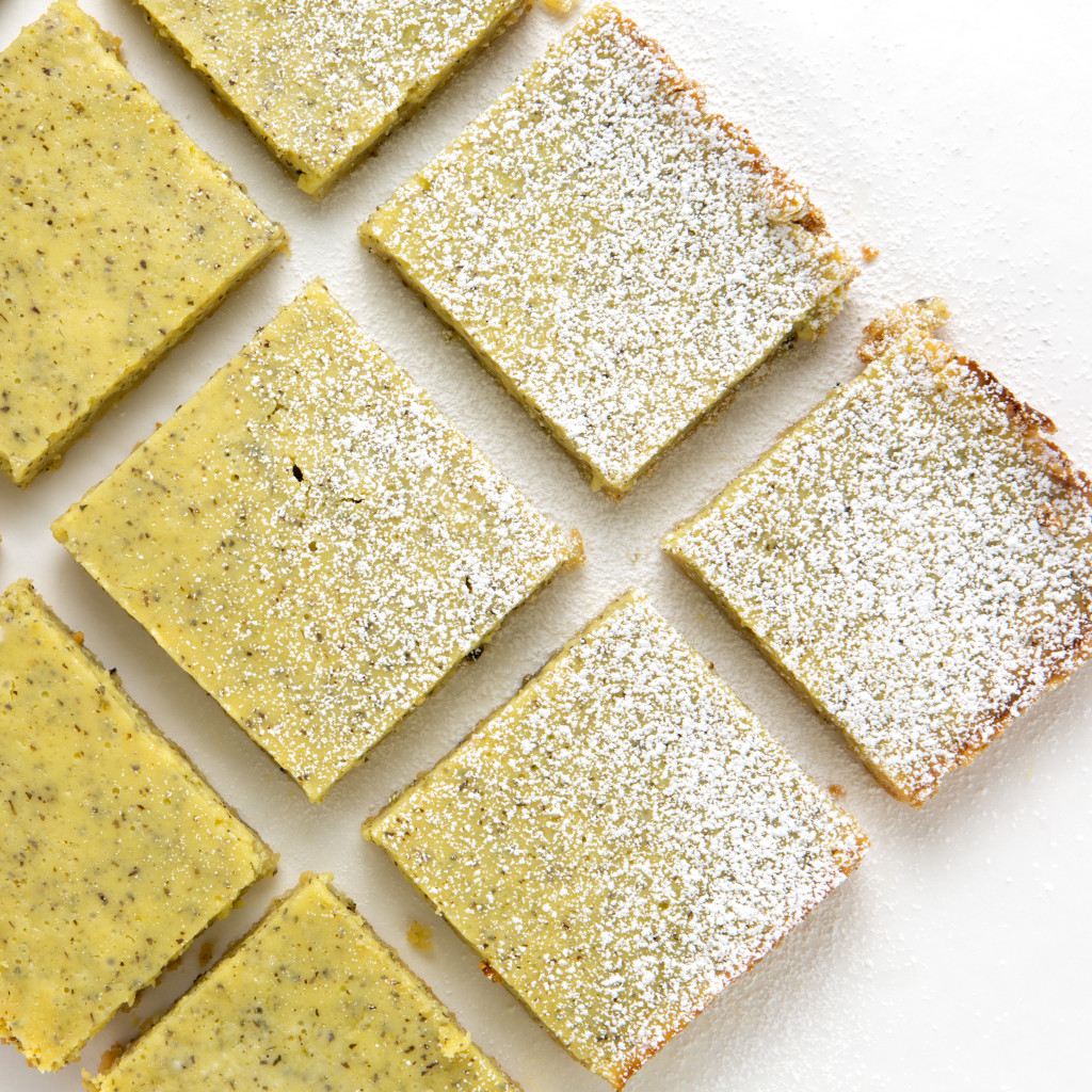 Green Tea Mojito Bars